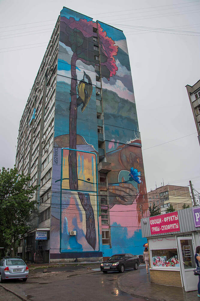 "Mural ""Refraction"""